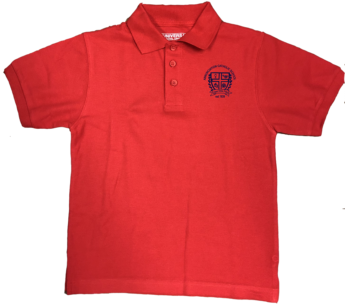 ACS Short Sleeve Pique Knit - Red
