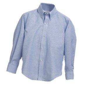 OLM Boys Oxford - Long Sleeve - Light Blue