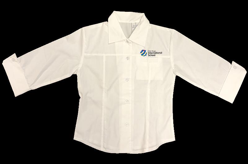 BRIS 3/4 Sleeve Blouse - White