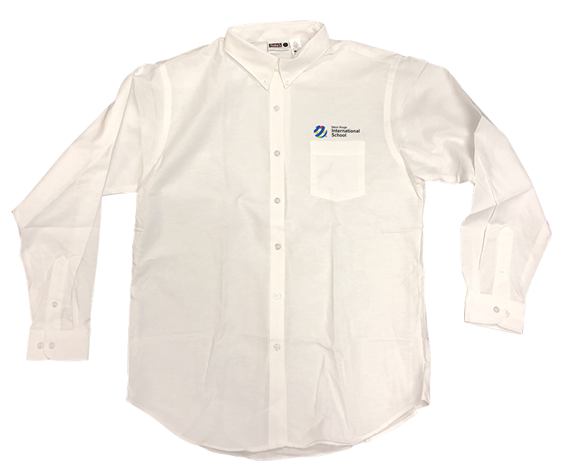 BRIS  Ladies Oxford - Long Sleeve - White