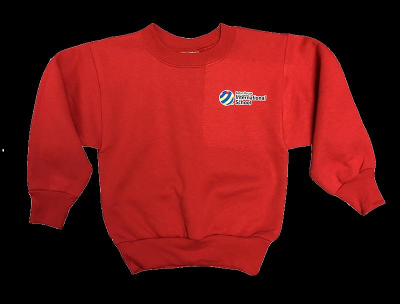 BRIS Crew Sweatshirt - Red
