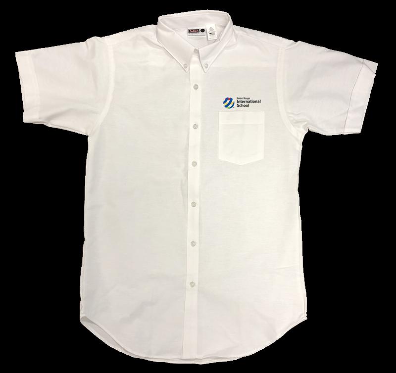 BRIS  Ladies Oxford - Short Sleeve - White