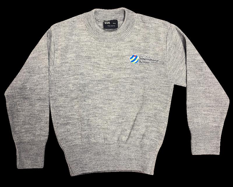 BRIS Crew Neck Sweater - Grey