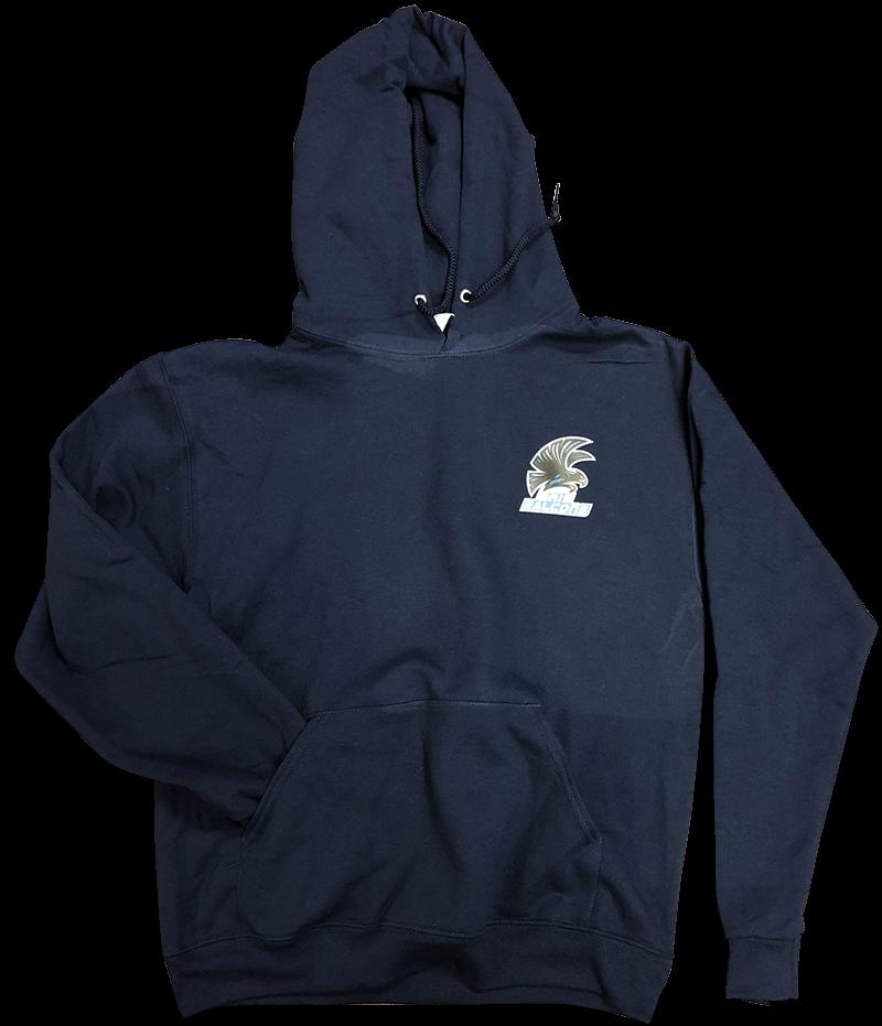 BRIS  Hooded Sweatshirt - Navy