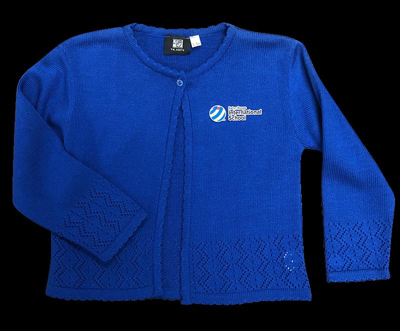 BRIS Pointelle Sweater - Royal
