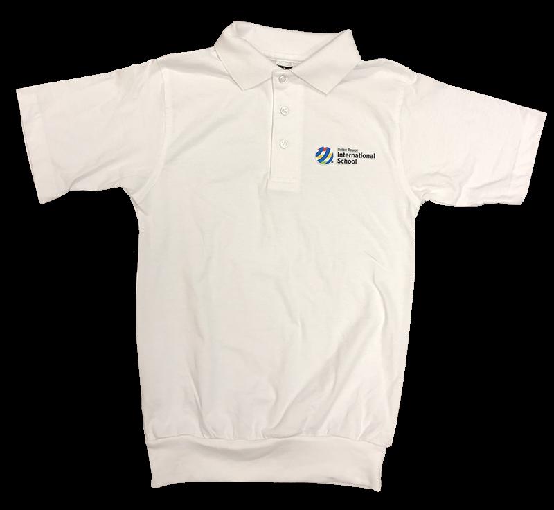 BRIS Short Sleeve Banded Bottom Jersey Knit: White