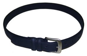 Belt - Leather - Navy