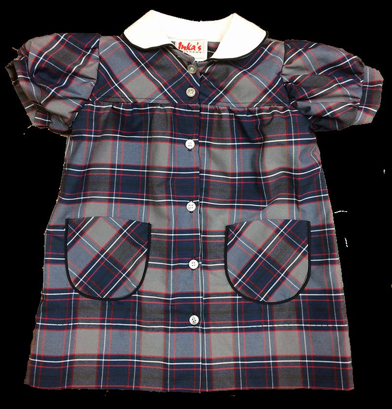 MBS Button Front Dress