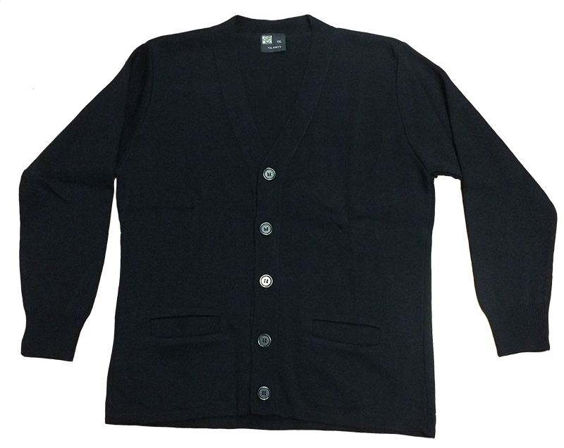 SCB Cardigan Sweater - Navy