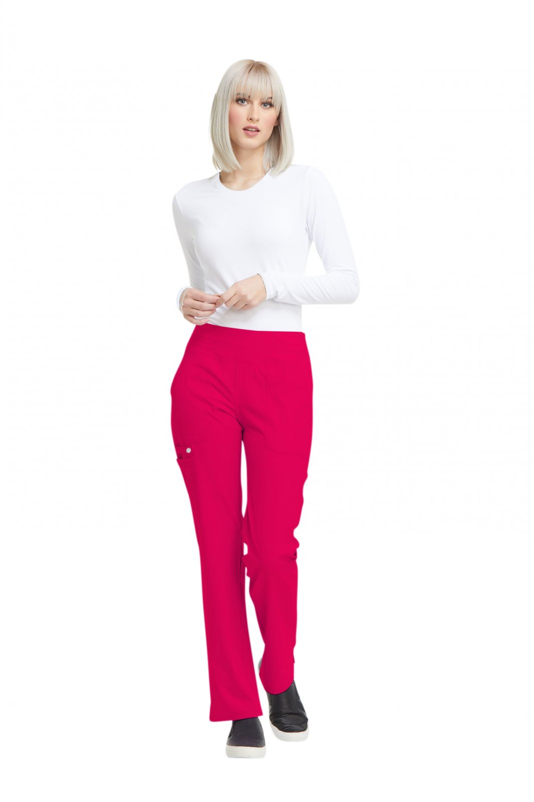 EL130 Pull-on Cargo Pant - Rouge