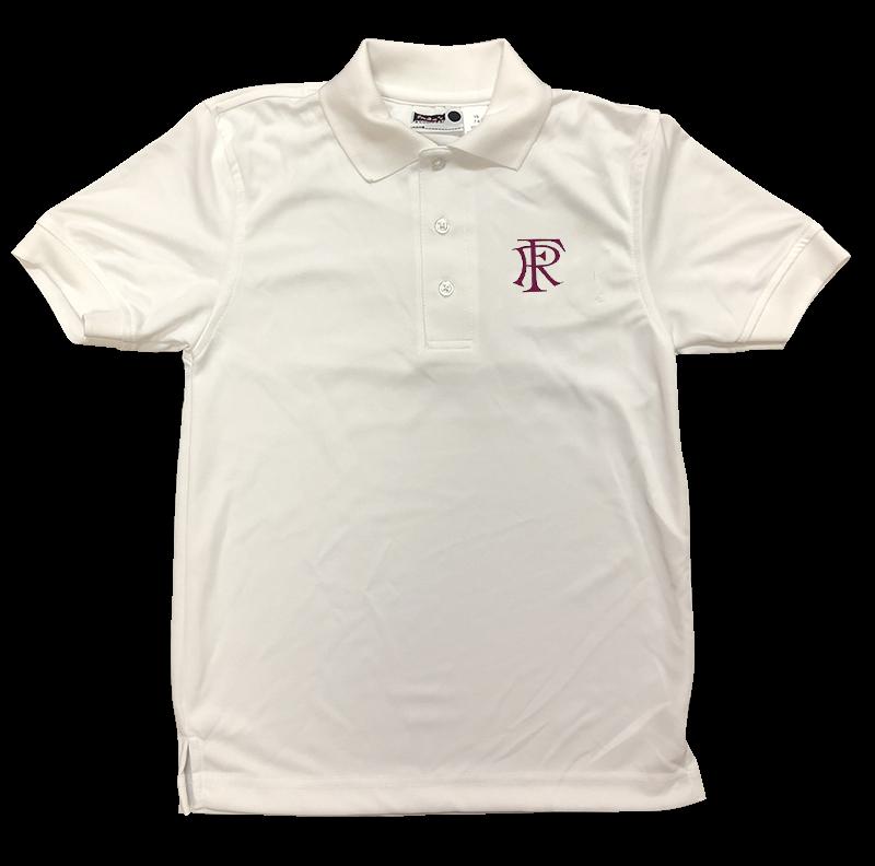FRA Short Sleeve Performance Knit - White