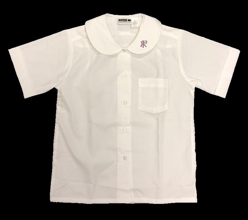 FRA S/S Peter Pan Collar Blouse - White