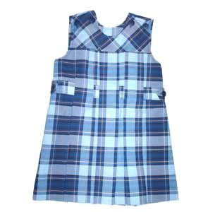 SCB Jumper - Button Shoulder - Plaid 46