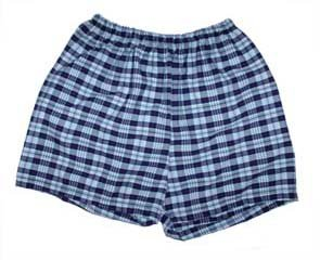 Pull-on Shorts - Plaid 72
