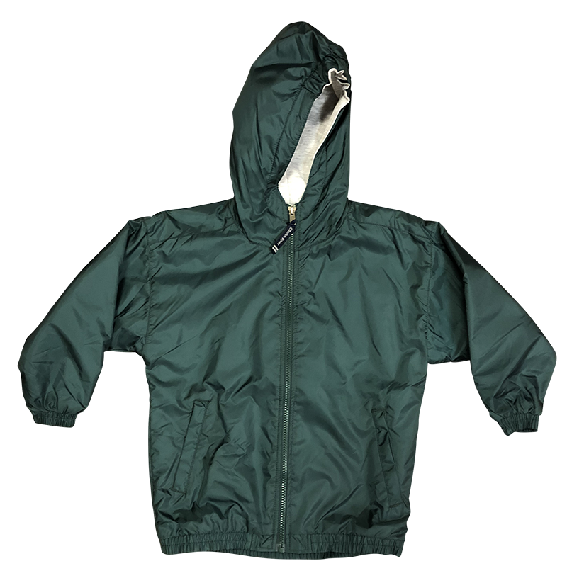 Jacket - Hooded - Green