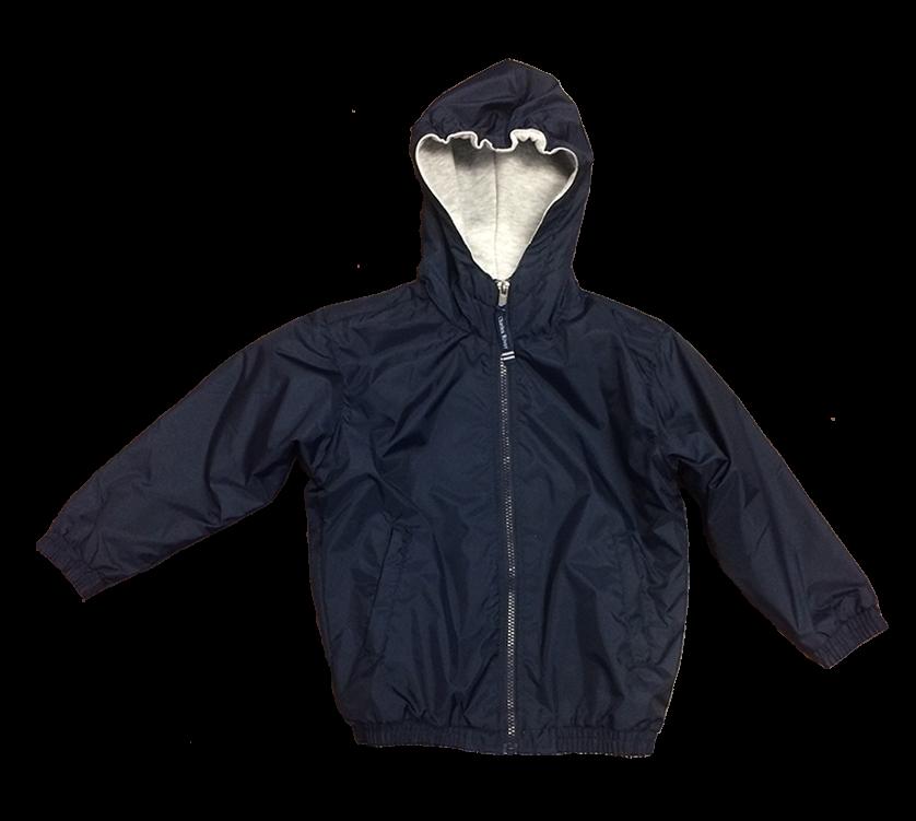 Jacket - Hooded - Navy
