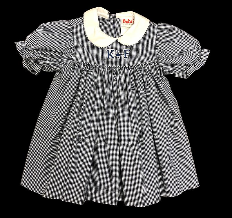 Kehoe-France Gingham Dress - Plaid 34