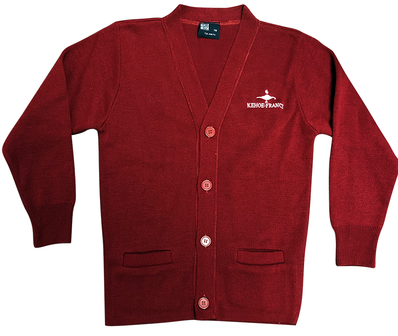 Kehoe-France Cardigan Sweater - Red