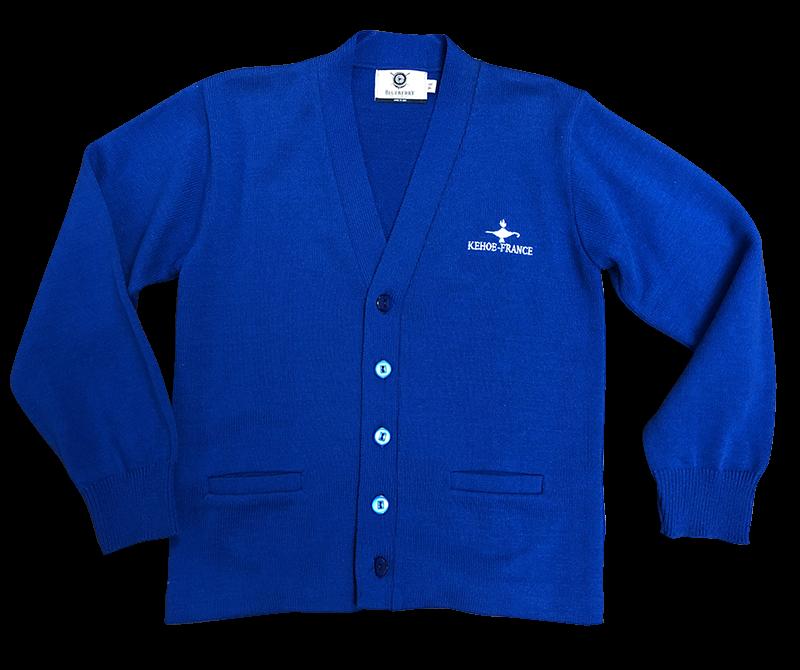 Kehoe-France Cardigan Sweater - Royal