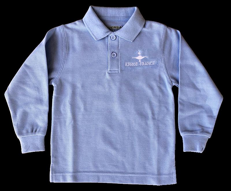 Kehoe-France Long Sleeve Knit - Light Blue
