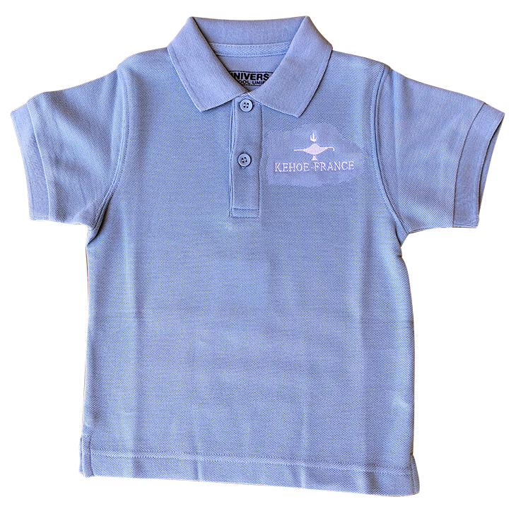 Kehoe-France Short Sleeve Knit - Light Blue