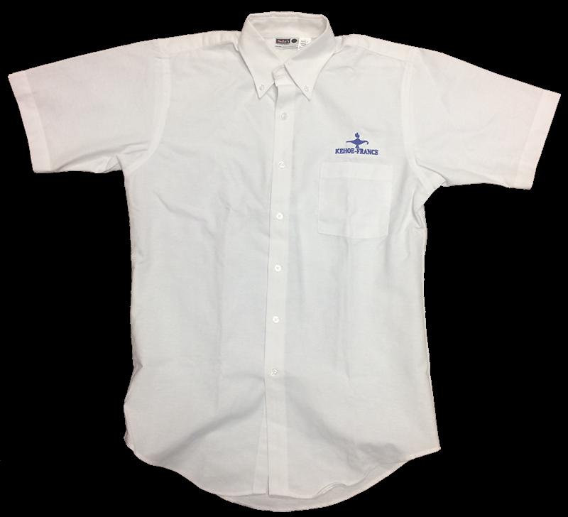 Kehoe-France Short Sleeve White Oxford