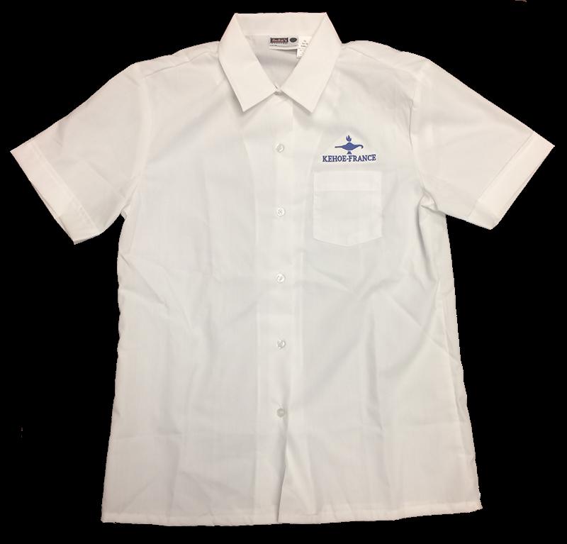 Kehoe-France Short Sleeve Sports Collar Blouse