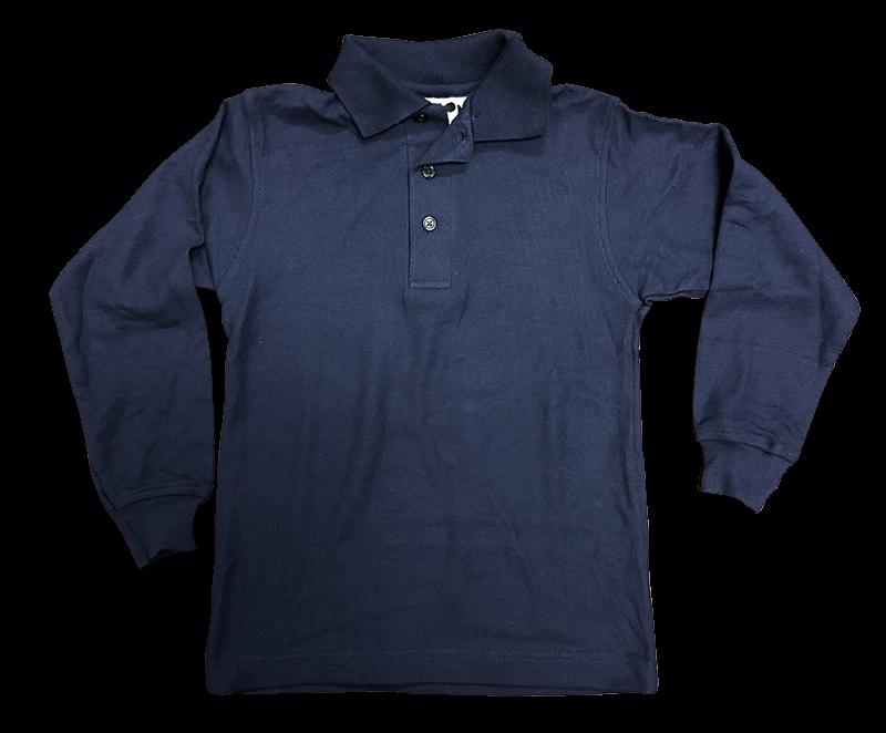 Knit - Pique Long Sleeve - Navy