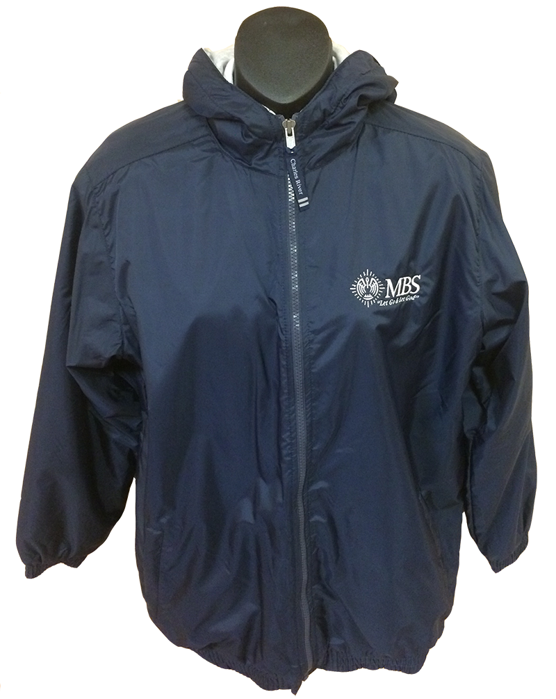 MBS Jacket - Hooded - Navy
