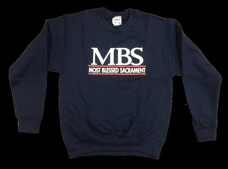 MBS Crew Sweatshirt - Navy