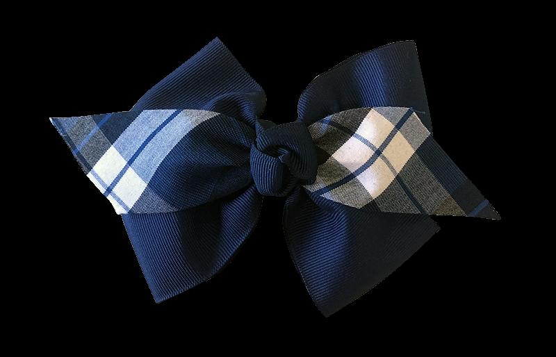 Medium Bow - Plaid 27