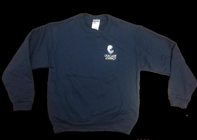 OLM Sweatshirt - Crew - Navy
