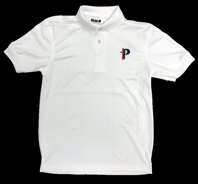 PBS Short Sleeve Dri-Fit Knit - White