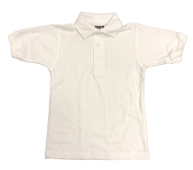 Knit - Pique Short Sleeve - White