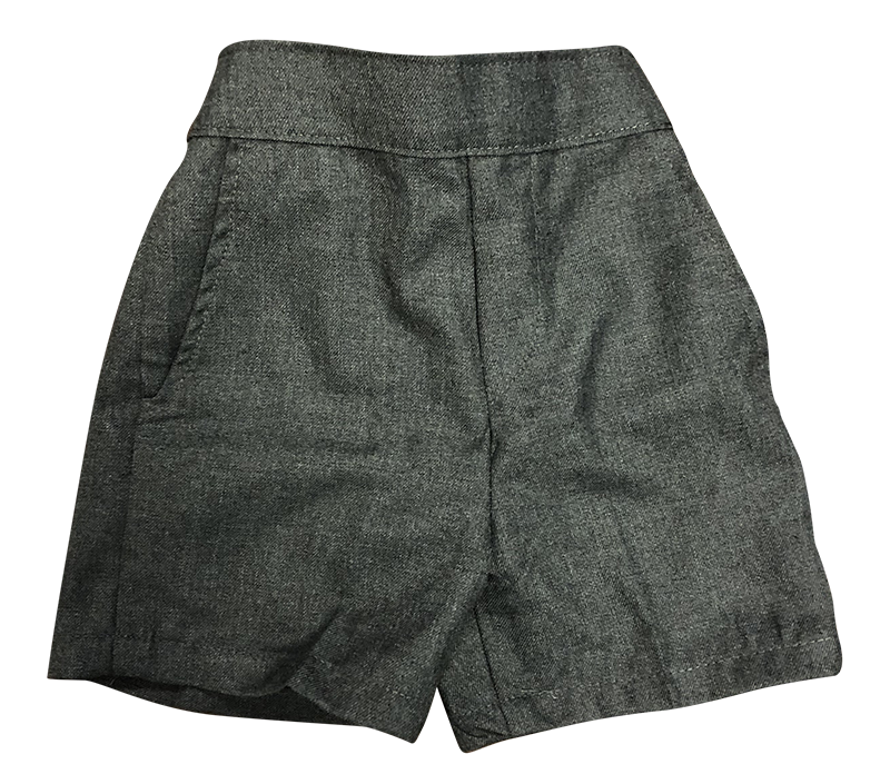 Pre-K Pull-on Shorts - Flannel