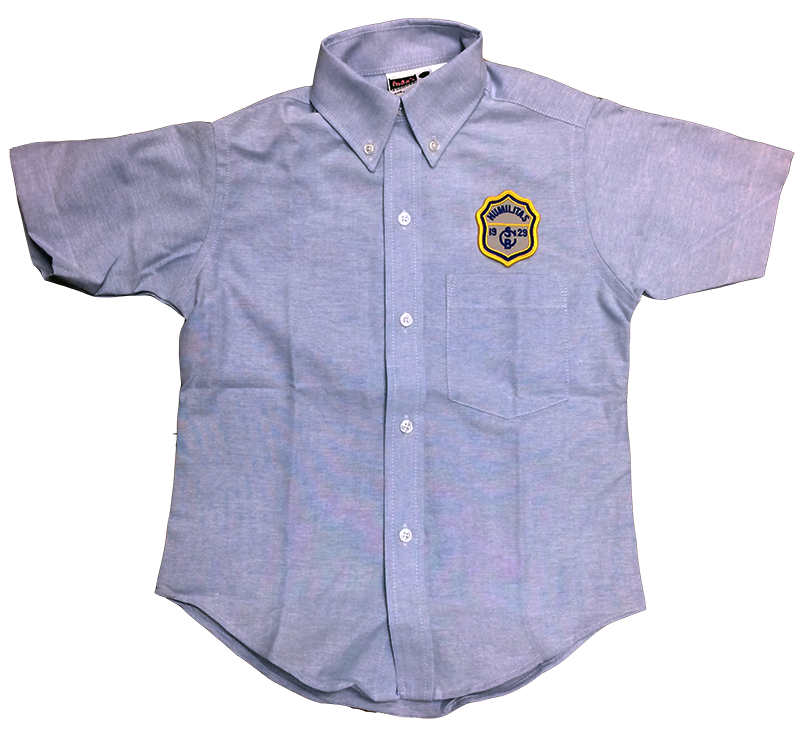 SCB Boys Short Sleeve Oxford