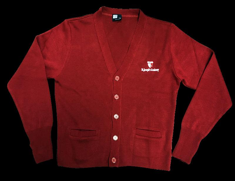 SJA Cardigan Sweater - Red