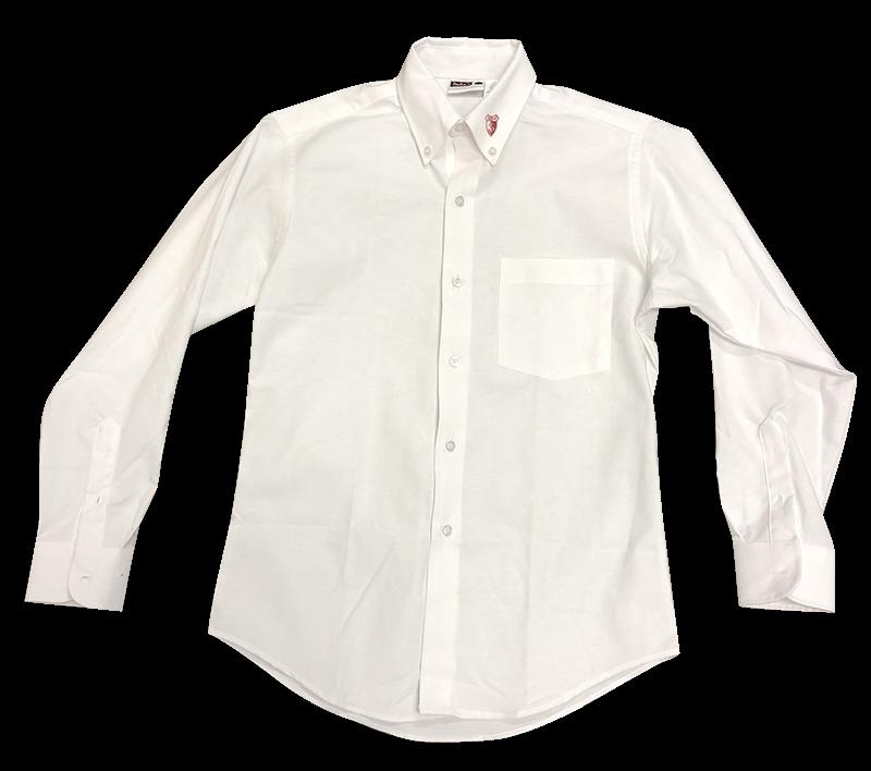 SJA Ladies Oxford - Long Sleeve - White