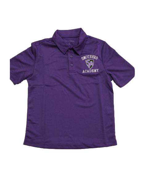 SMO Short Sleeve Performance Knit - Purple