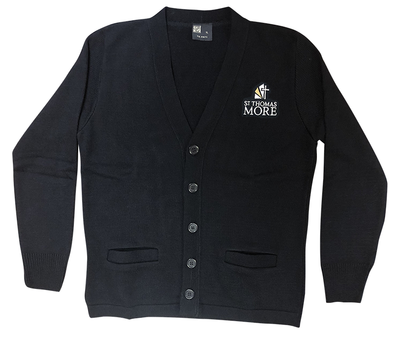 STM Cardigan Sweater - Navy