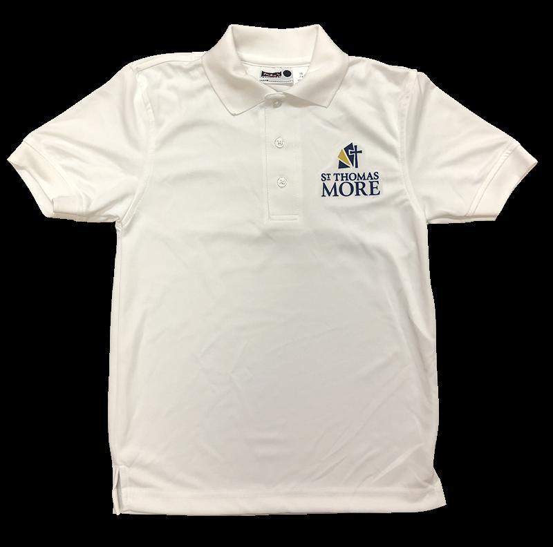 STM Short Sleeve Performance Knit - White