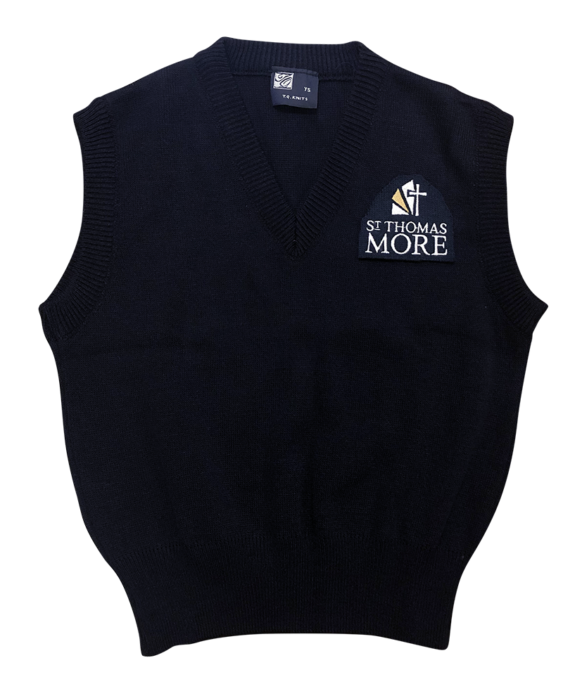 STM Sweater Vest - Navy