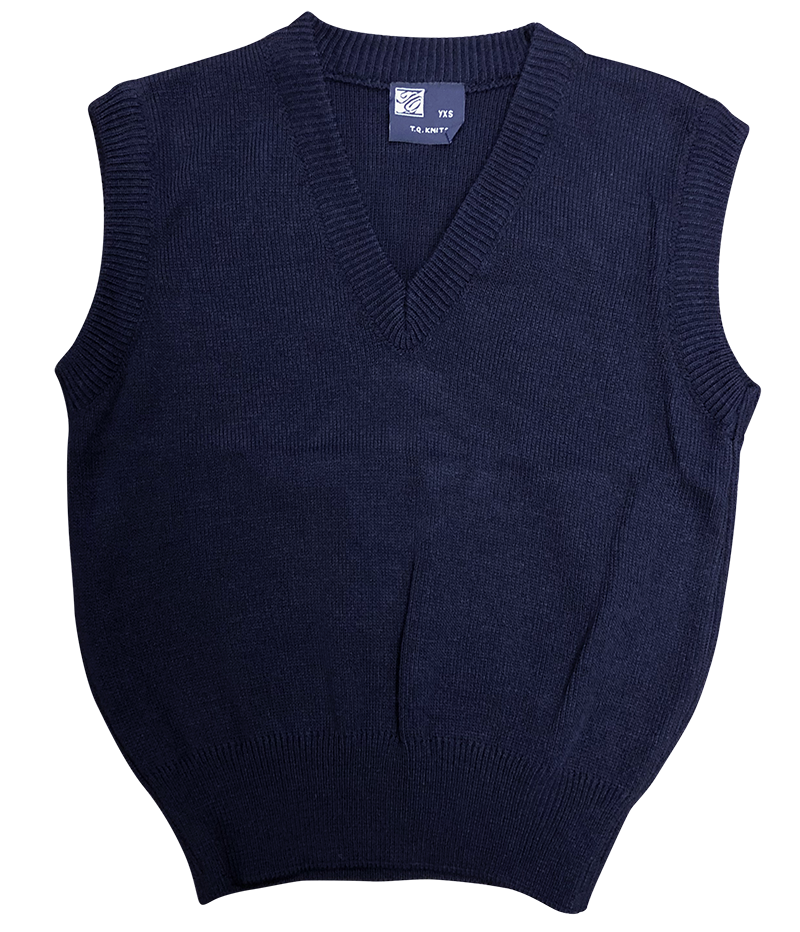 Sweater Vest - Navy