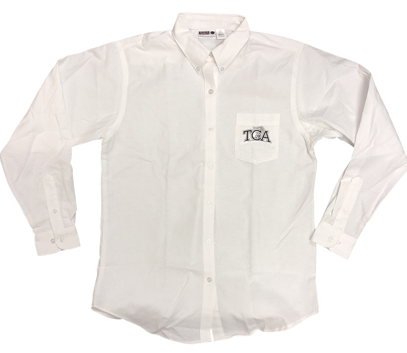 TCA  Ladies Oxford - Long Sleeve - White