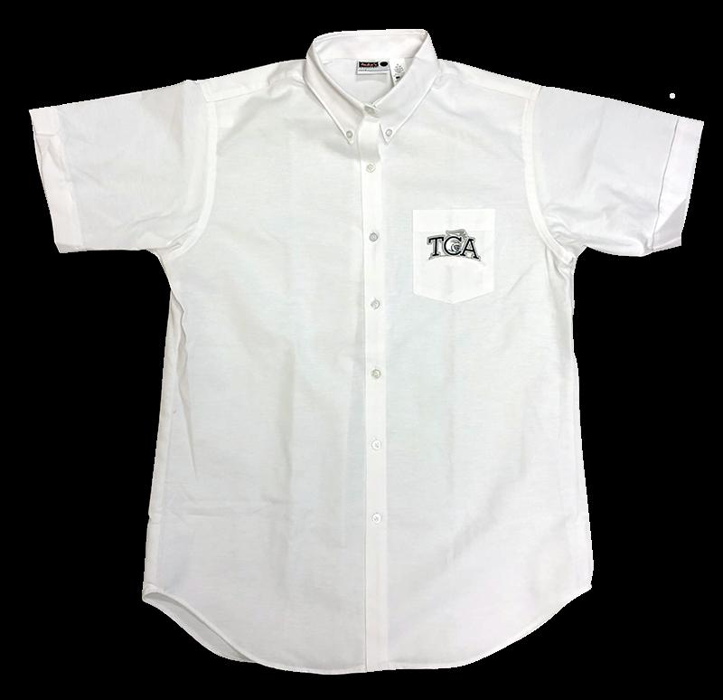 TCA  Ladies Oxford - Short Sleeve - White