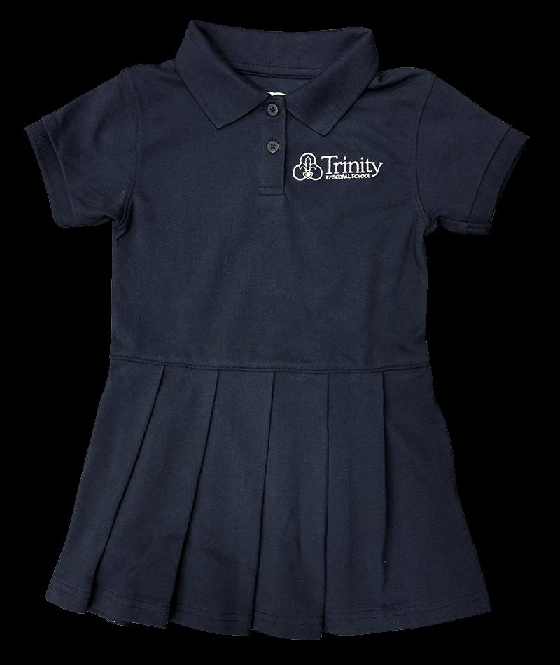 Trinity Polo Dress - Navy