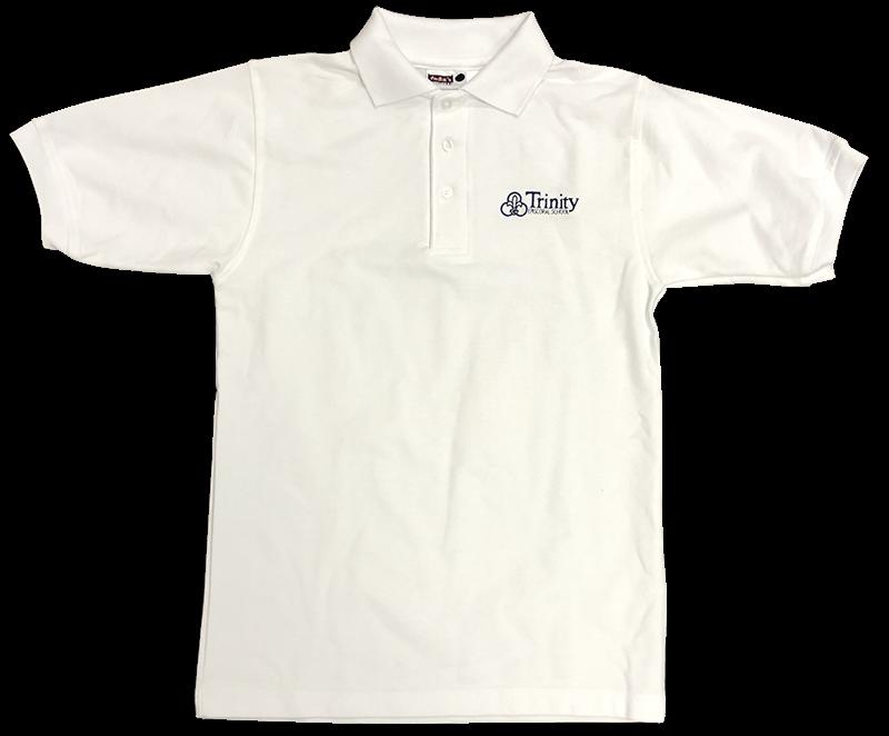 Trinity Short Sleeve Pique Knit - White