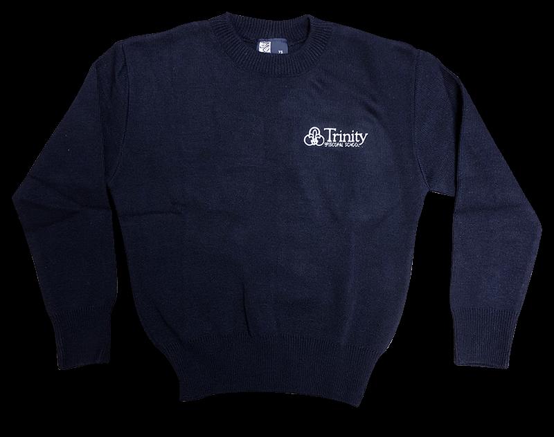 Trinity Crew Neck Sweater - Navy