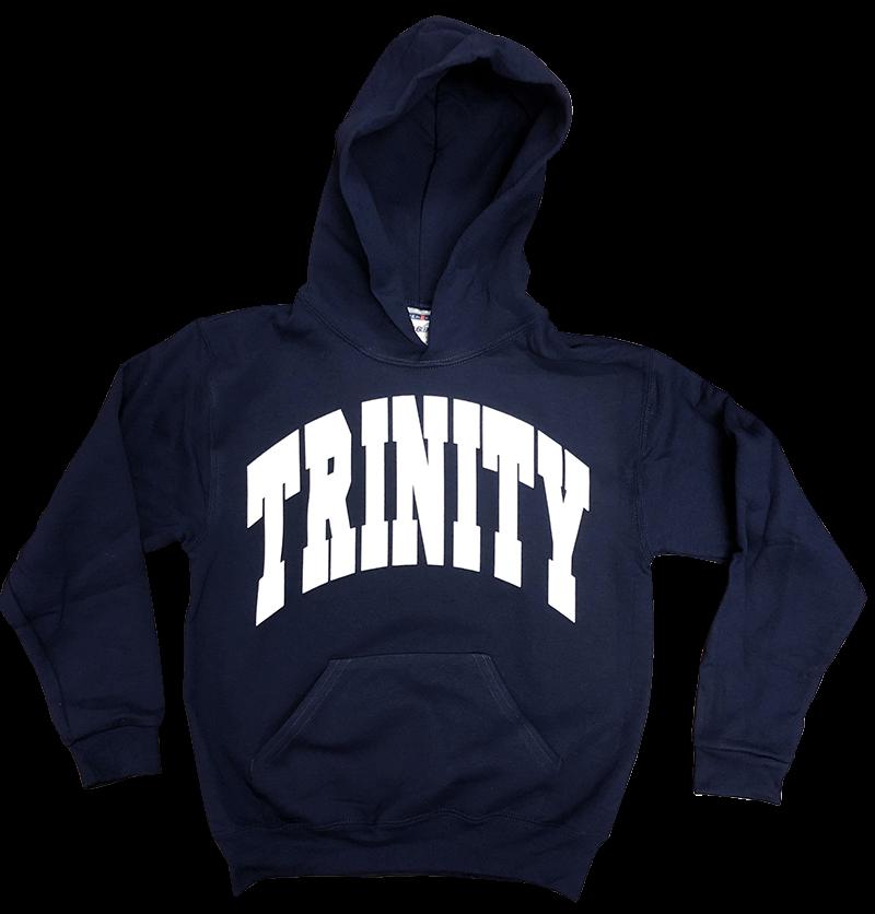 Trinity Hooded Sweatshirt - Navy