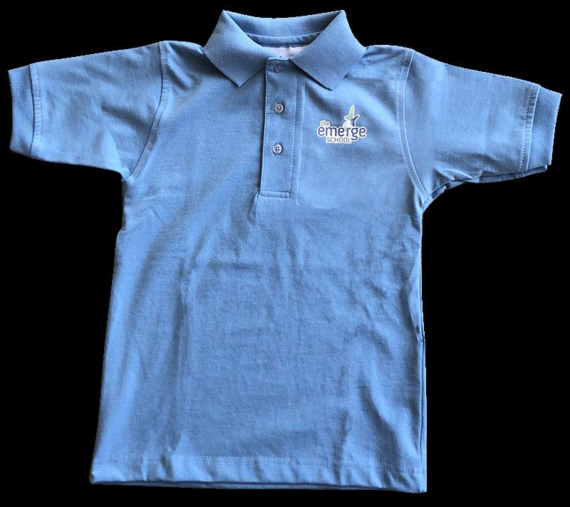 TES Short Sleeve Jersey Knit - Light Blue